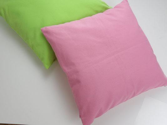 Kissenbezug Baumwolle, Pink