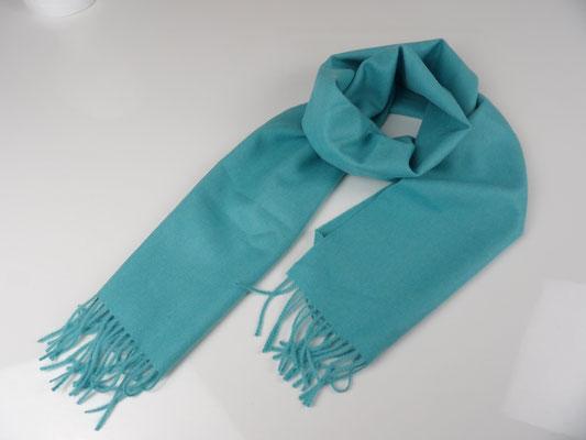Schal Baby Alpaka Premium, blau