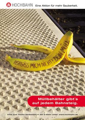 Kampagne Sauberkeit