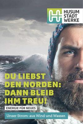 Norddeutsche Landschaft. In den Gesichtern.