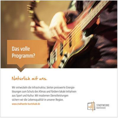 Sponsoring-Anzeige Kunstverein