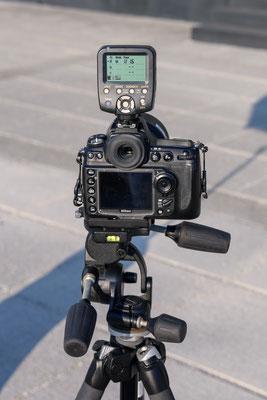 Nikon D700 mit Yongnuo YN560-TX Flash Controller