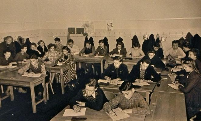 Winter 1953, 10. Klasse Oberschule Technischer Zweig (OTZ)