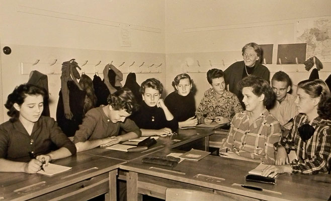 Winter 1953,10. Klasse Oberschule Technischer Zweig (OTZ)