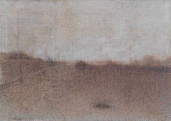 """Christian RONCERAY """"Paysage-mémoire XIV"""" 60 cm x 85 cm technique mixte sur toile"""
