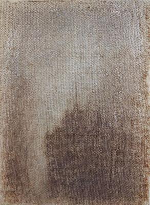 """Christian Ronceray """"Il était une fois... XXXII"""" 30 cm x 22 cm technique mixte sur toile 230 €"""