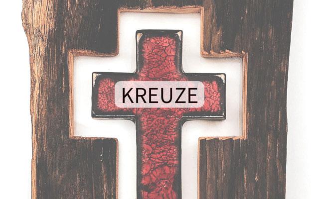 Keramik-Kreuz