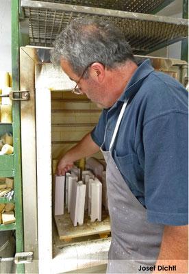 Keramikermeister Josef Dichtl