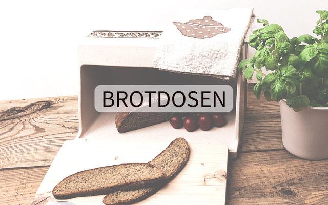 Brotdosen aus Keramik