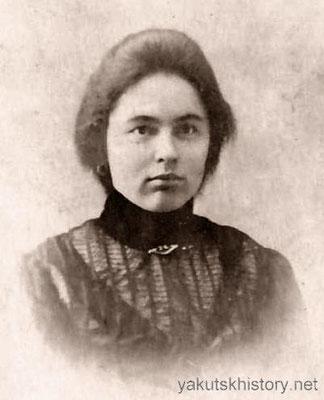 Бабушка, Вера Павловна Юшманова (Корякина) 21 год