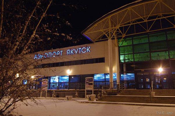 Якутск. Аэропорт. Фото Зуева А.П.