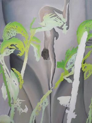 kopfueber_01   |   Öl auf Leinwand   |   90 x 120 cm   |   2009