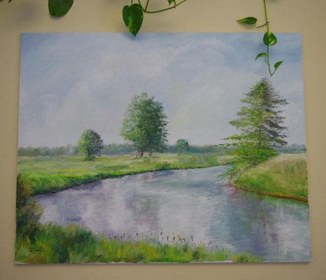 Die Hamme (99,5 x 80 cm: 520 Euro)