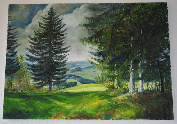 Wettertanne (59,5 x 50 cm: 420 Euro)