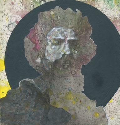 Mane Hellenthal, Segantini, 2016, 20 x 20 cm, Öl, Acryl auf Leinwand, ABC Westside Galerie