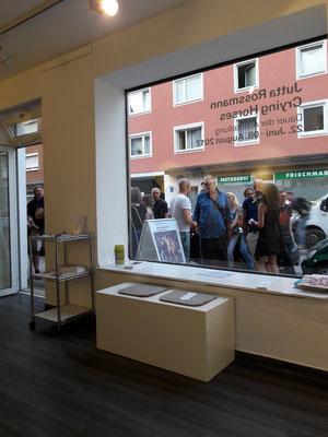Vernissage - Jutta Rossmann, Abc-Westside-Galerie