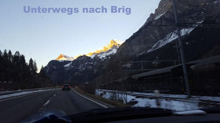 Unterwegs ins Wallis