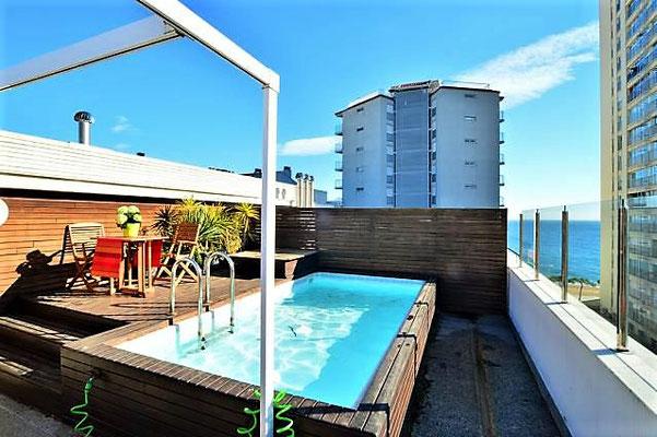 Квартира в Испании с собственным бассейном на террасе, Плайя де Аро, Коста Брава