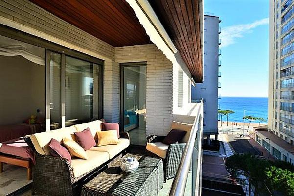 Апартамент с бассейном на террасе в Плайя де Аро, Испания, Коста Брава