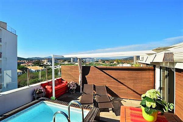 Апартамент с бассейном в Плайя де Аро, Испания