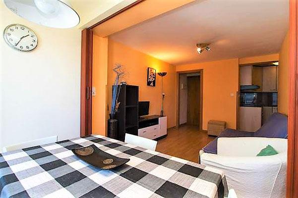 Недорогой апартамент на первой линии моря в Плайя де Аро (Platja d'Aro)