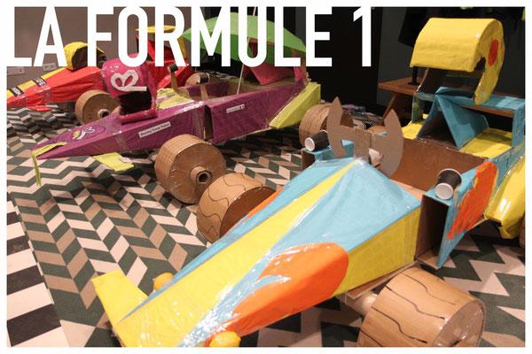 La Formule 1 en carton