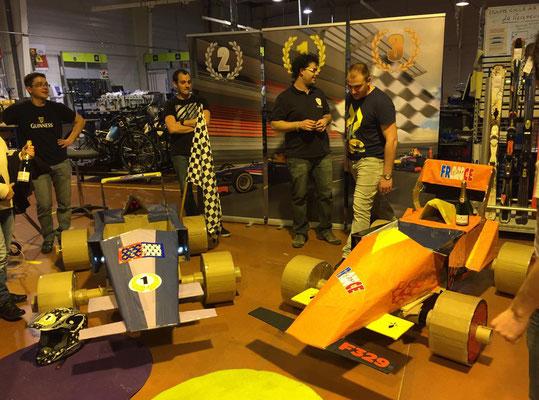 carton séminaire teambuilding formule 1 construction