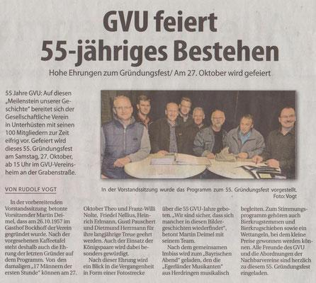 55. Jubiläum GVU #1