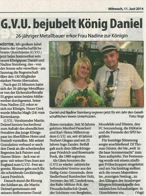 GVU-Königspaar 2014 #1