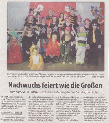 GVU-Karneval Kinder 2013