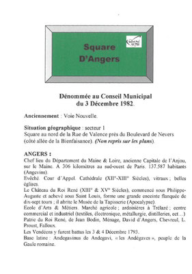 Square d'Angers
