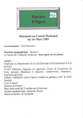 Square d'Agen