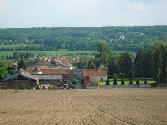Baillet en France, vue de Montsoult