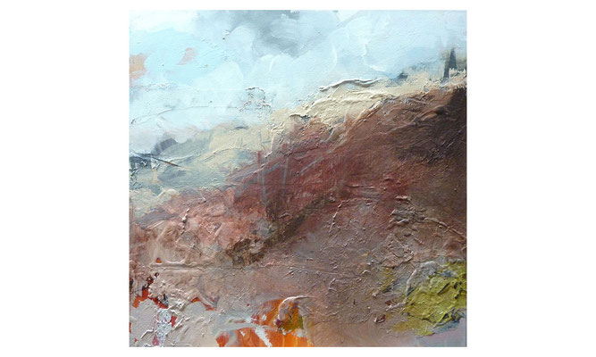 Kleine Düne  |  2011  |  Acryl auf Leinwand  |  50 x 50 cm