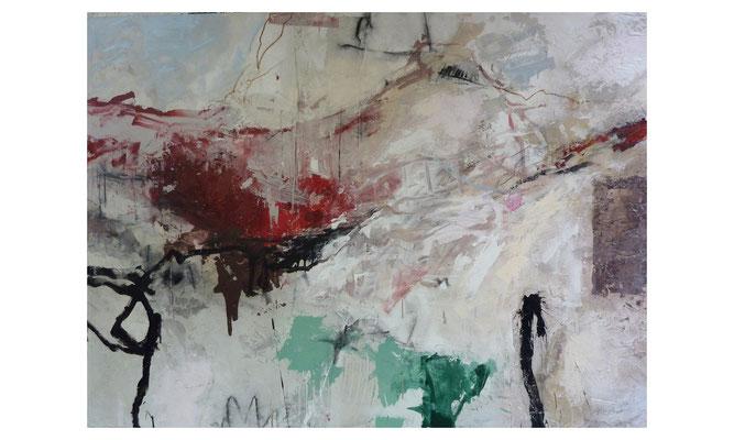 Senke  |  2015  |  Acryl auf Leinwand  |  120 x 150 cm