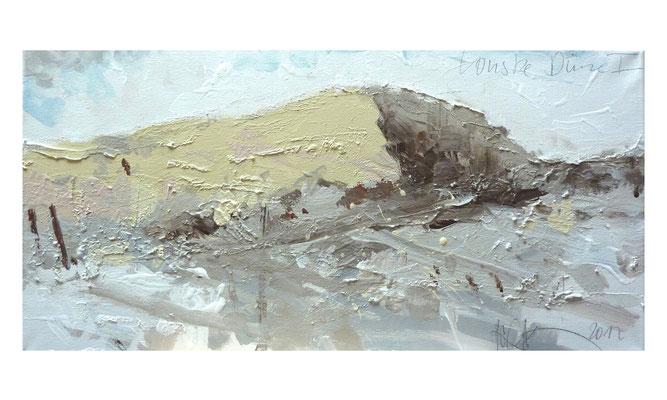 Tomske - Düne 1  |  2012  |  Acryl auf Leinwand  |  30 x 60 cm