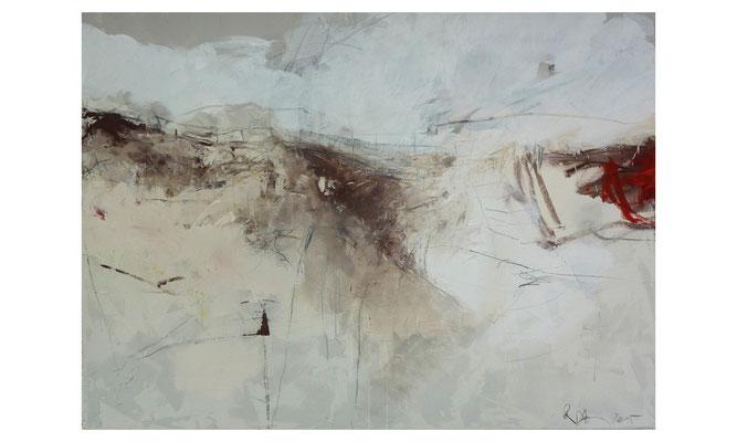 Düne 3  |  2015  |  Acryl auf Leinwand  |  120 x 150 cm