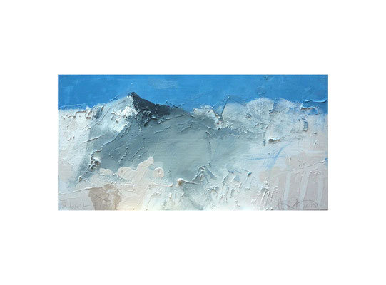 Landschaft 78011 | 2011 | Acryl auf Leinwand | 30 x 60 cm