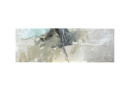 Landschaft 14.11.2011  |  2011  |  Acryl auf Leinwand | 30 x 90 cm
