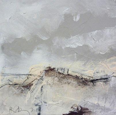 Normande 1  |  2014  |  Acryl auf Leinwand  | 30 x 30 cm