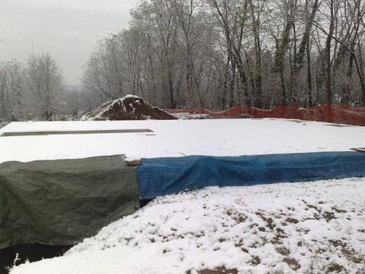 24 Novembre: la nevicata prima dei lavori