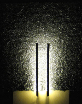 Edelstahl Leuchte