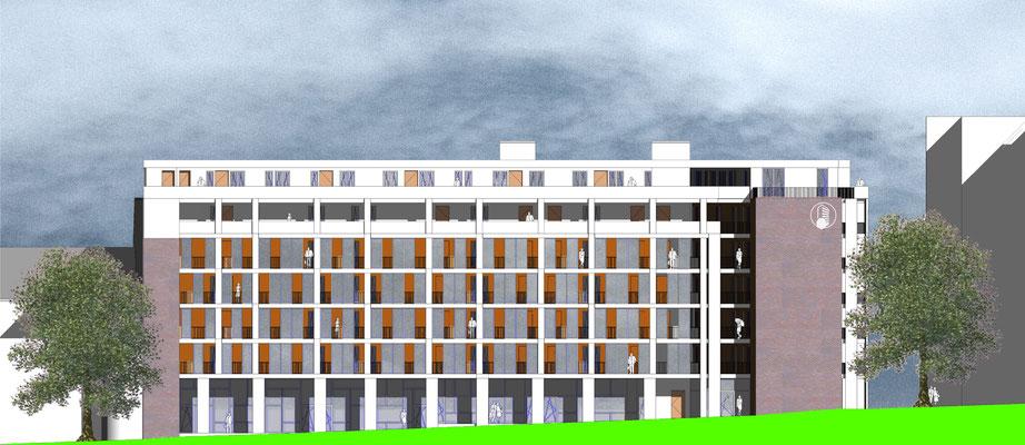 Wohnungsbau Wettbewerb Neukölln
