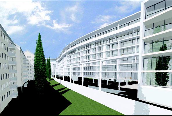 Wettbewerb Wohnungsbau Helsinki FIN