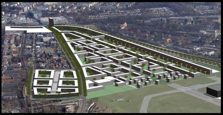 Städtebau Berlin Schumacher Quartier