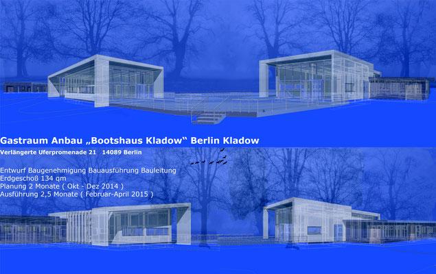 Gastraum Bootshaus Berlin Kladow
