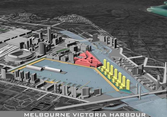 Städtebauprojekt Melbourne AUS