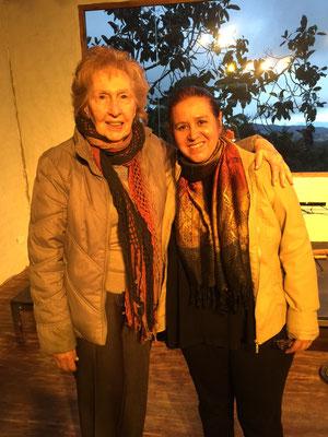 Sonia Martínez y Rita del Prado