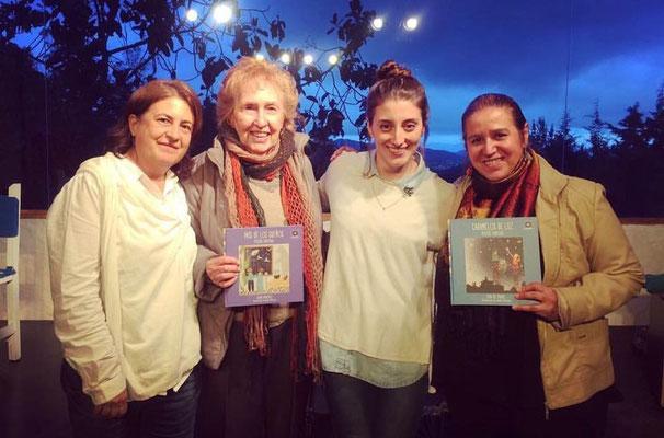 De izquierda a derecha Tita Maya, Sonia Martínez, Amalia Restrepo, Rita del Prado. FOTO: Piedad Aguirre