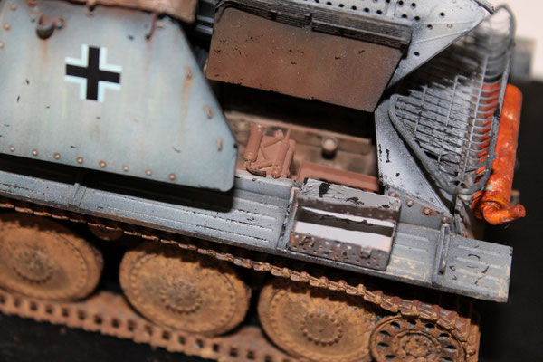 """Sdkfz. 138 """"Marder"""" III H. auf Fgst. 38t Ausfh. E"""